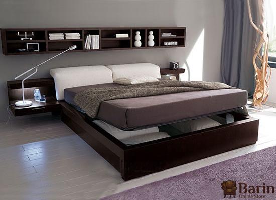 Изголовье кровати полка