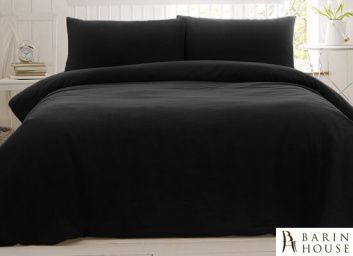 Купить Простынь BOSTON Jefferson Sateen Black 135526